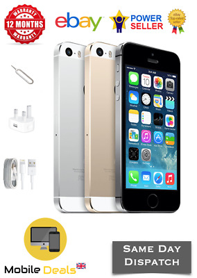 Apple iPhone 5s 16GB - 32GB Factory Unlocked 4G LTE Smartphone All Colours