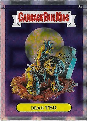 Garbage Pail Kids Chrome Series 1 - DEAD TED 5a - XFRACTOR