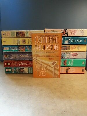 Lot of 13 Catherine Anderson Romance Western/Contemporary Paperback Novels Books
