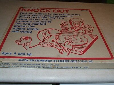 Knock Out - Epoch Play Things  Board Game