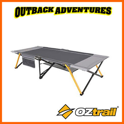 OZTRAIL EASY FOLD STRETCHER SINGLE SIZE CAMPING BED - new model