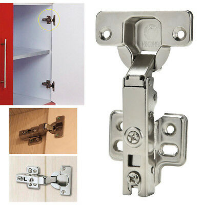 1x Clip-On Soft Close Full Overlay Hinges for Face Framed Cabinet Cupboard Door