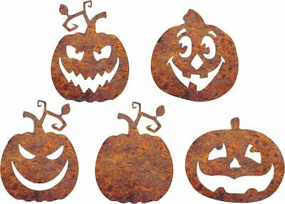 DXF CNC dxf for Plasma Router 5 Pumpkins Yard Art Halloween Yard Stakes