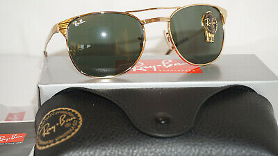 bcb65ae6ba RAY BAN NEW Sunglasses Authentic SIGNET Gold Green RB3429M 001 55 ...
