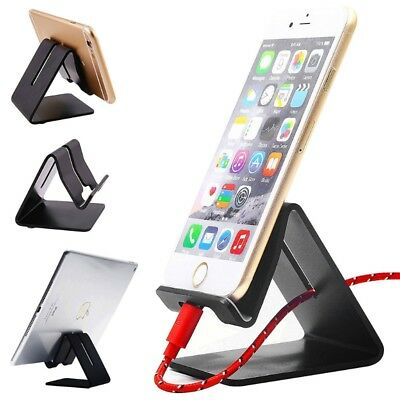Universal Desk Mount Stainless Steel Stand Support Holder For Smart Phone Tablet