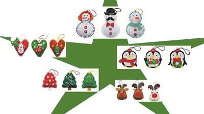 Kleiber Christmas Filzbastelset dry frisk with pre punched Felt fabric Decor