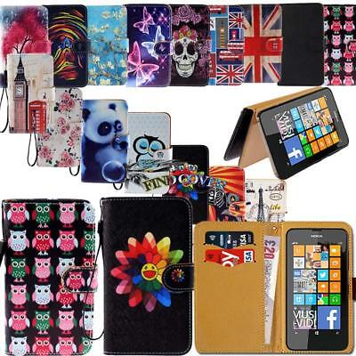 Leather Wallet Stand Magnetic Flip Case Cover For Nokia 3/5/6/8 (2017) Phones