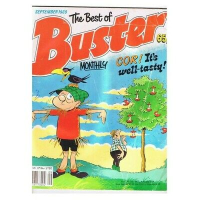 The Best of Buster Comic September 1989 MBox2769 Cor! It's well-tasty!