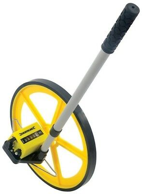Silverline 633468 Large Diameter Surveyors Measuring Wheel 0-99,999m