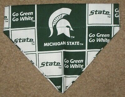 Michigan State Spartans Dog Bandana - 5 sizes XS - XL