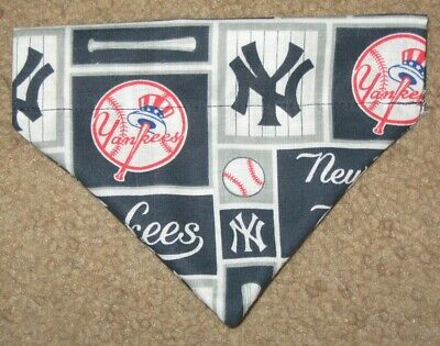 NY Yankees Dog Bandana - 5 sizes XS - XL