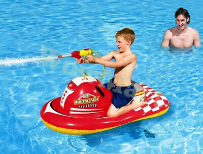 New Bestway Inflatable Pool Toy Floating Scooter Jet Ski Water Pistol  #41071