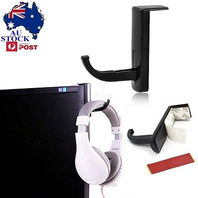 AU Headphones Stand Hanger Gaming Headset Wall PC Monitor Holder