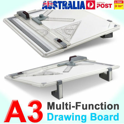 Portable Rapid Art A3 Drawing Board Table Adjustable Parallel Motion Brand