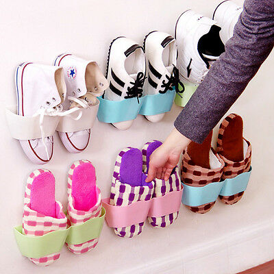 Creatif Adhesif etagere a chaussures mural pour Stockage de Chaussures