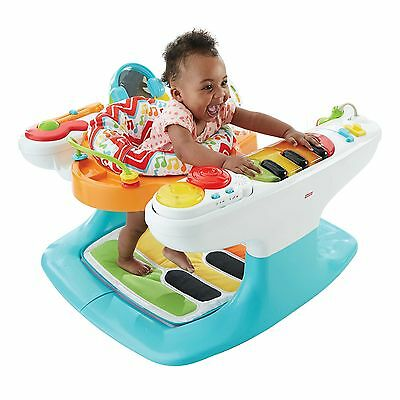 Fisher-Price Entertainer 4-in-1 Step 'n Play Piano Baby Activity