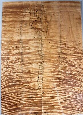 #4617 Ripple Maple Guitars/&Basses Bookmatch Top Set Luthier-ONE AND ONLY