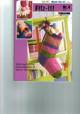 Handicraft book Filz-it! Instructions SMC-Nr.4-PG S1 frisk wet dry