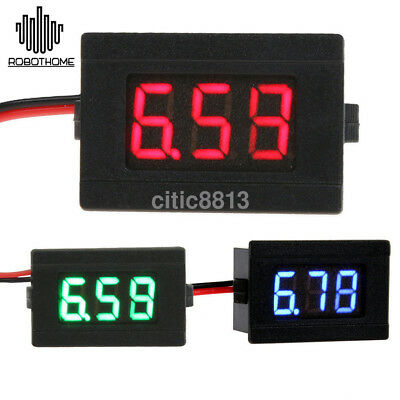 DC12V LED Digital Thermometer Monitoring Tester Probe Temperature Meter Detector