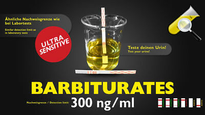 Urintest Barbiturate sensitiv 300ng/ml Drug Test