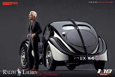 1:18 William Lyons figurine VERY RARE !! NO CARS ! for jaguar collectors by SF