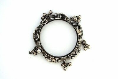 Antique Turkish Ottoman Solid Silver Filigree Bracelet