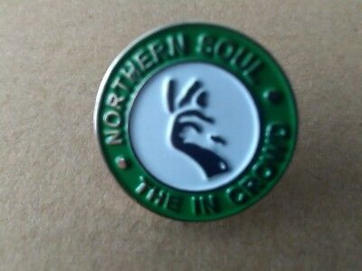 Northern Soul The In Crowd  Pin  Badge