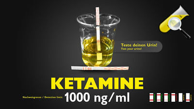 Urintest Ketamin 1000ng/ml Drug Test