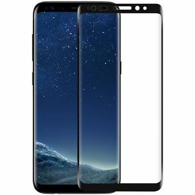 2X For Samsung Galaxy Note 8 S8 3D Full Curved Screen Protector Tempered Glass