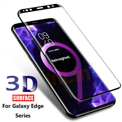 3D Tempered Glass Screen Protector Curved Film For Samsung Galaxy S8 ,s8 plus