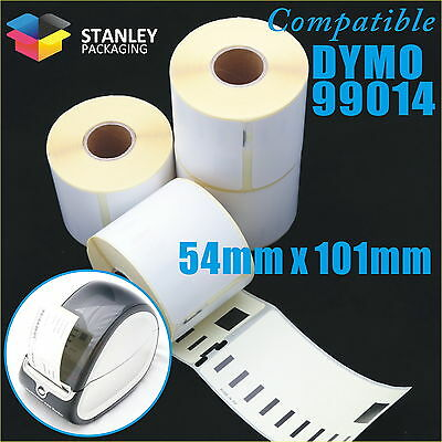 50x Compatible for Dymo Seiko 99014 54mm x 101mm Labelwriter 450/450Turbo Label