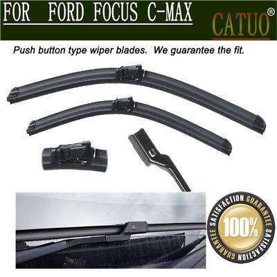"NEW For Ford Focus C-Max 2003-2009 Windshield Front Wiper Blades Set 26"" + 19"" D"