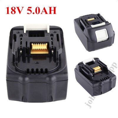5.0AH 18V Li-Ion Replacement Battery for Makita Power Tool BL1850 BL1840 18 Volt