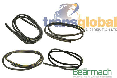 Land Rover Defender 110 County Station Wagon Front & Rear Rubber Door Seal Kit