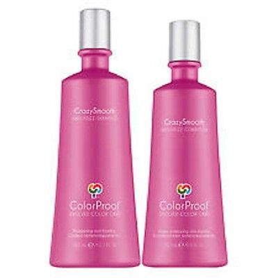 ColorProof CrazySmooth Anti-Frizz Shampoo 10.1 oz and Conditioner 8.5 oz