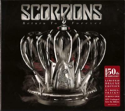 Scorpions Return To Forever CD + DVD MTV Unplugged Live In Athens NEW SEALED