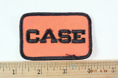 CASE TRACTOR  Sew-on Embroidered PATCHES