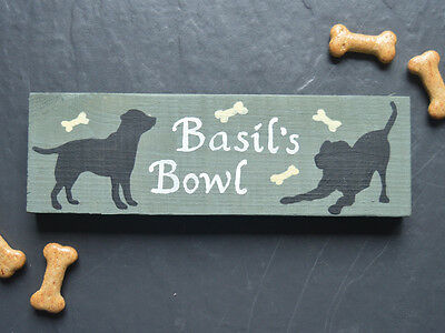 Dog Memorial Wooden Sign Plaque Remembrance Personalised In Loving Memory Grave