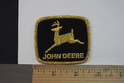 "John Deere Embroidered Sew-on Patch  2.5""x2.25"""