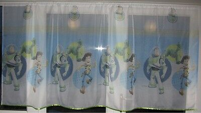 Luxury Disney Toy Story Voile Net Curtain with Slot Top Fit