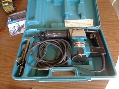 Makita Power Scraper Tile Remover HK1810 with case & assorted chisels