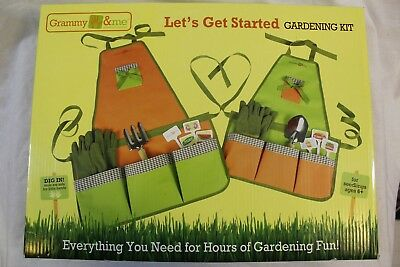 Grammy & Me Let's Get Started Gardening Kit - Brand New Sealed