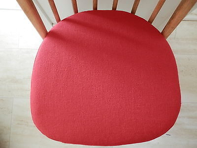 SEAT PADS FOR ERCOL WINDSOR DINING CHAIRS (Price is for one) All colours .
