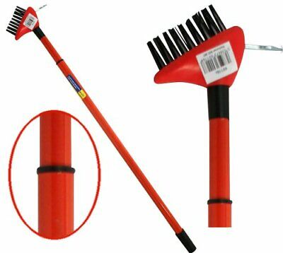 Decking Weed Brush Wire Scraper Patio Cleaner Garden Telescopic 0.8 - 1.4 M P44