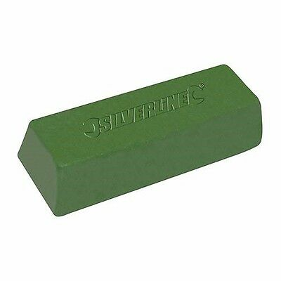 GREEN POLISHING COMPOUND BUFFING METAL 500g COPPER BRASS STEEL GRINDING P251