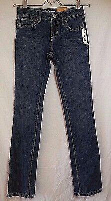 Nwt Old Navy Girls Size 10 Slim Skinny Jeans Med Wash 5 Pocket Adjustable Bts