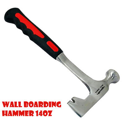 Wall Boarding Drywall Hammer Crowned 14oz One Piece Steel Handle Hammers CA6