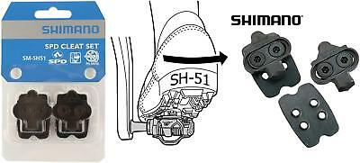 Shimano SM-SH51 SPD Single Release Cleats Cleat Set inc. Backing Plate Y42498220