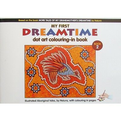 Aboriginal Dot Art Coloring-in Book by Naiura. Book 2