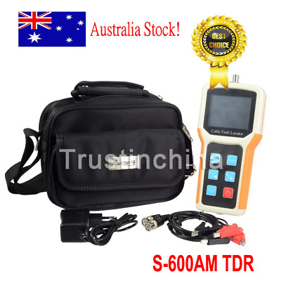 New Handheld S-600AM TDR Cable Fault Locator 2km Fast Test Speed Accurate Test t